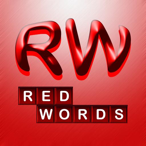 RED WORDS HD LOGO-APP點子