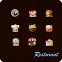 Restaurant GoLauncher EX Theme icon
