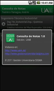 Consulta de Notas - screenshot thumbnail