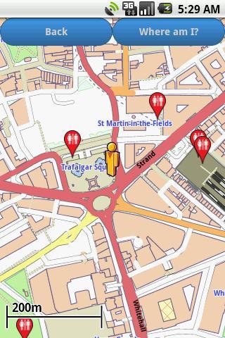 London Amenities Map free