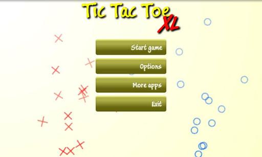 Tic Tac Toe XL
