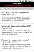 Screenshot of Love Advice