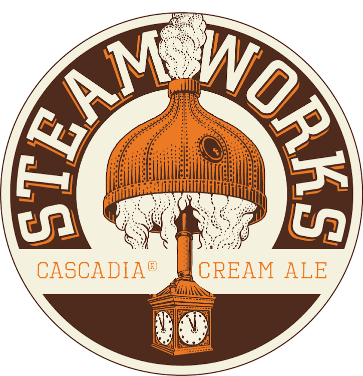 Logo of Steamworks Cascadia Golden Ale