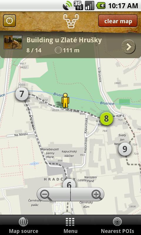 Prague Minos Guide- screenshot