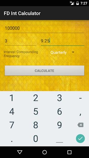 FD Interest Calculator