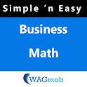 Business Math by WAGmob logo