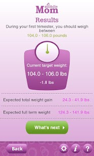 Pregnancy Weight Calculator - screenshot thumbnail