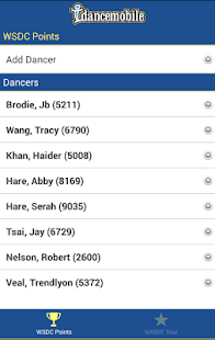 idancemobile- screenshot thumbnail