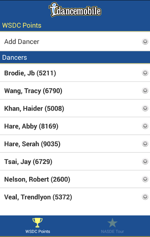 idancemobile - screenshot