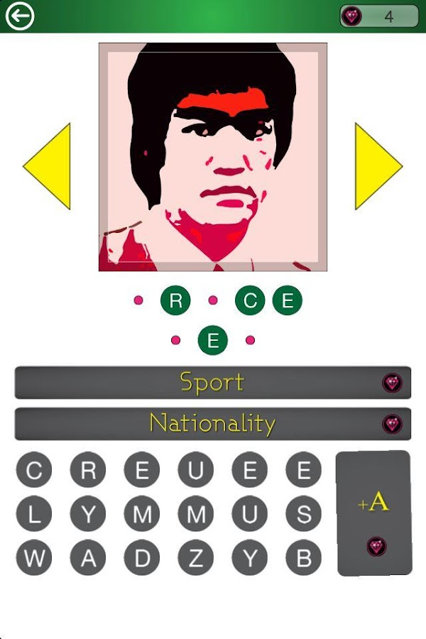 Famous Athletes PopArt Quiz- screenshot