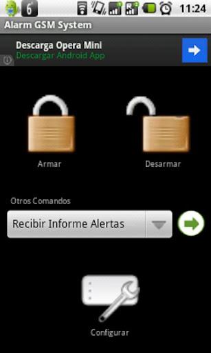 Control Alarma GSM