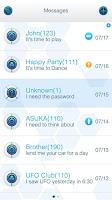 Screenshot of GO SMS PRO FBALL THEME
