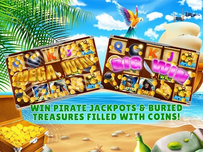 double lucky slots //pirates treasure hunt