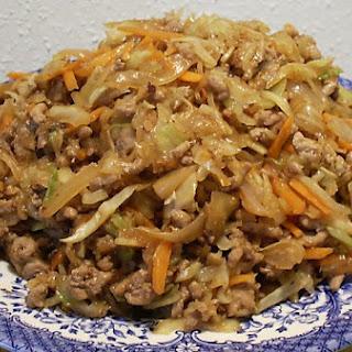ASIAN PORK & CABBAGE SKILLET DINNER