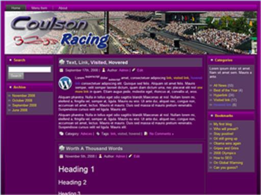 Coulson Racing