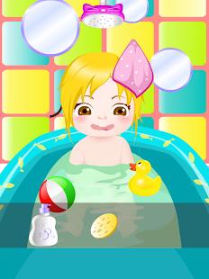 快樂寶寶洗澡遊戲