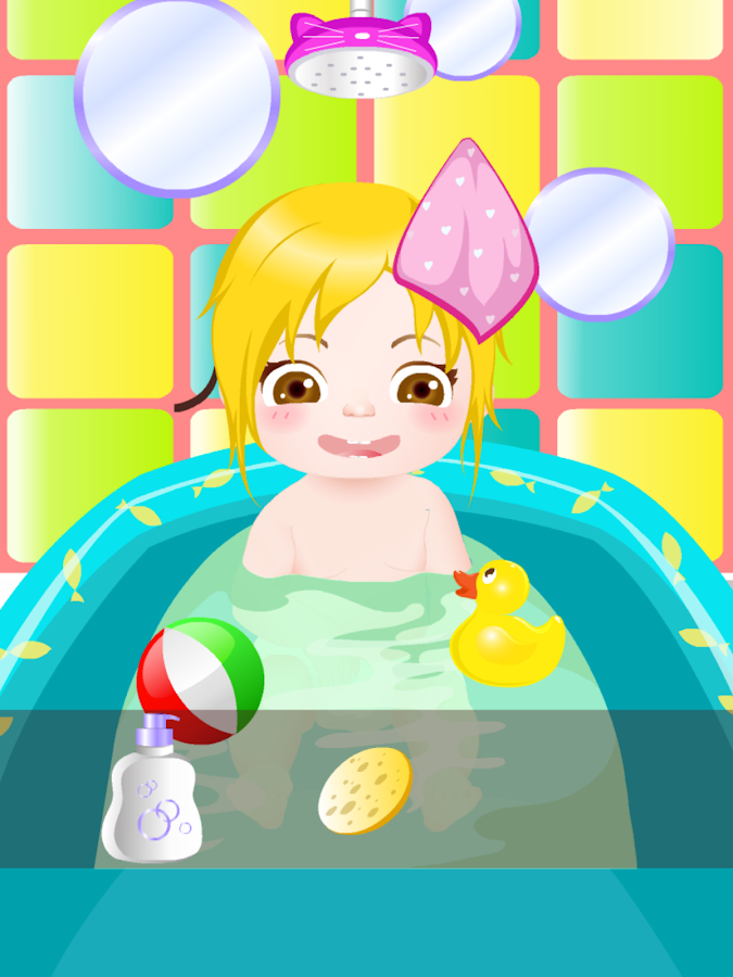 happy baby bath kids games android apps on google play. Black Bedroom Furniture Sets. Home Design Ideas