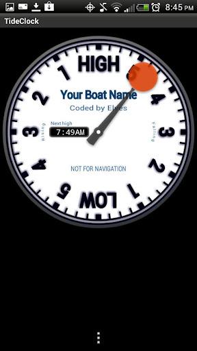 Tide Clock screenshot