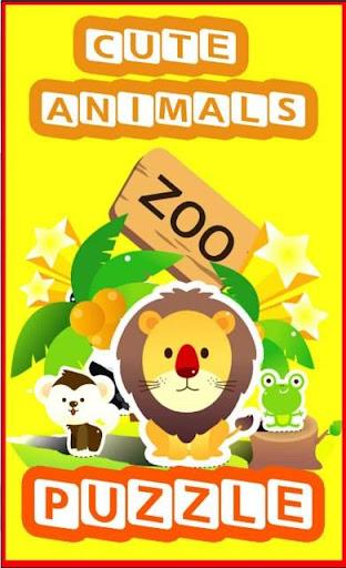 Zoo Animal Puzzle