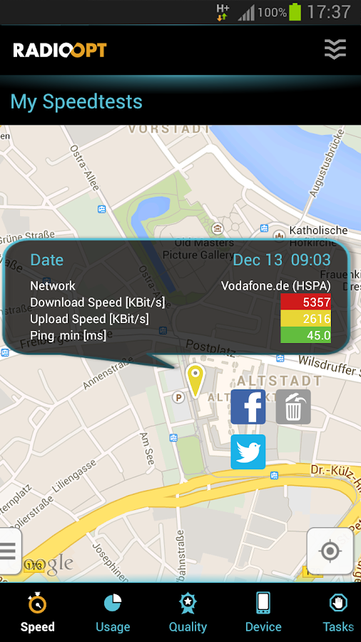 Traffic Monitor - screenshot