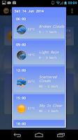 Screenshot of Live Weather