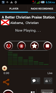 Ultimate Christian Radios - screenshot thumbnail