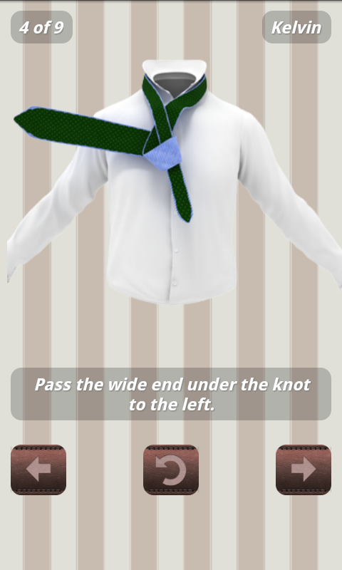 How to tie a tie 3d animated android apps on google play how to tie a tie 3d animated screenshot ccuart Choice Image