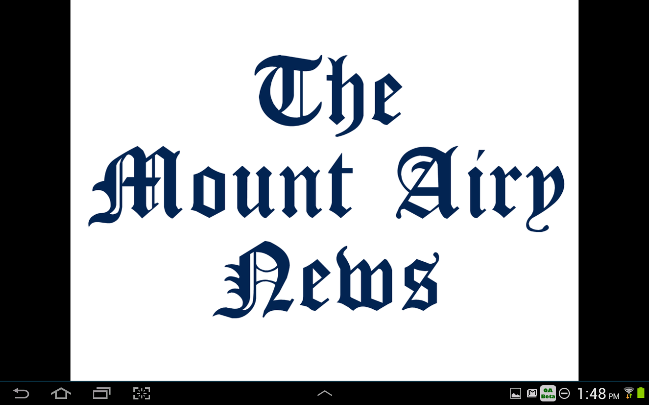 Mt. Airy News- screenshot