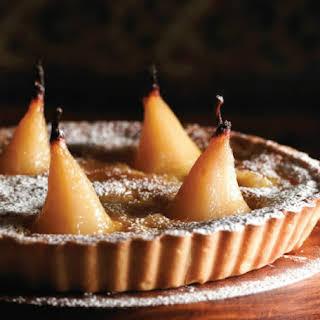 Glazed Pear Tart.
