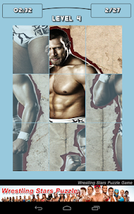 Wrestling Stars Puzzle Game - screenshot thumbnail