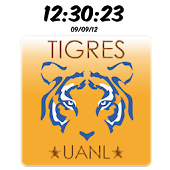 Digital Clock Tigres UANL