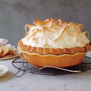 Pumpkin Meringue Pie.