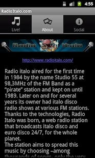 radio italo - screenshot thumbnail
