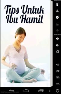 Tips Untuk Ibu Hamil