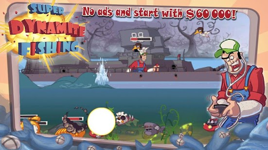 Super Dynamite Fishing Premium Screenshot 1