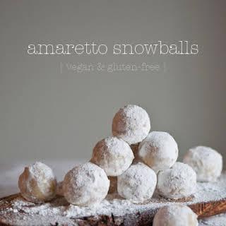 Amaretto Snowballs.
