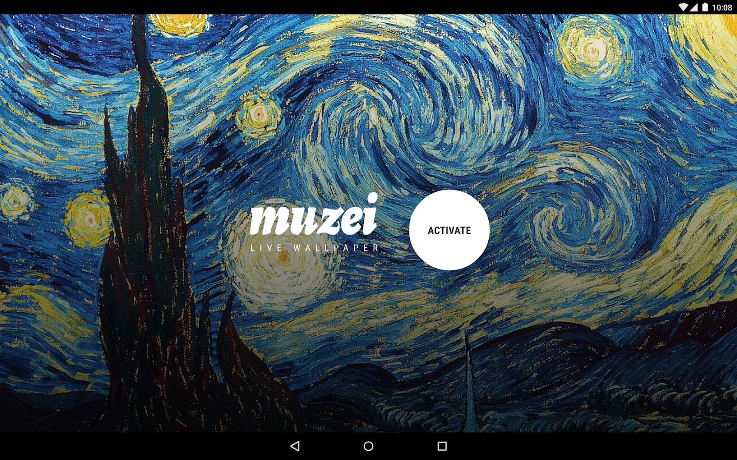 Muzei Live Wallpaper- screenshot