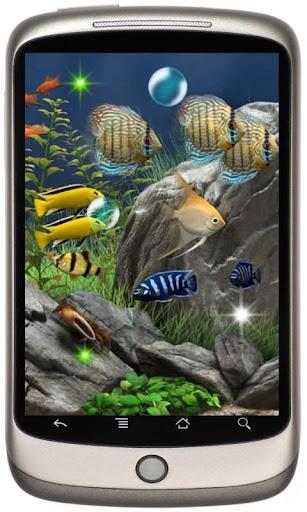 Aquarium Fishes Photo LWP