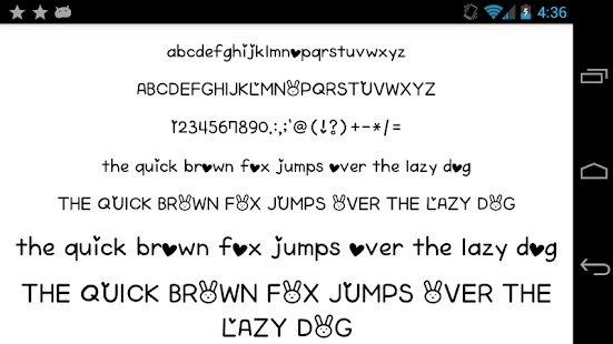Fonts-for-FlipFont-50-Written