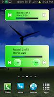 Screenshot of Workout Timer