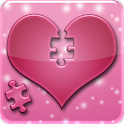 Love Jigsaw Puzzle: IQ test logo