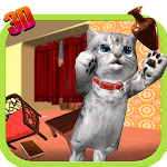 Cute Kitty Cat - 3D Simulator 1.0 Apk