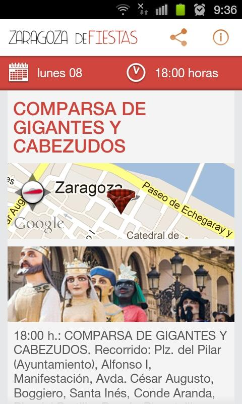 Zaragoza DeFiestas - screenshot