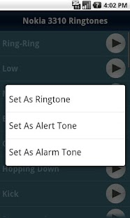 Nokia 3310 Ringtones - screenshot thumbnail