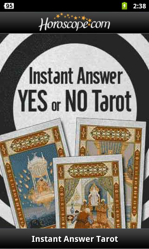 Yes Or No Tarot - screenshot