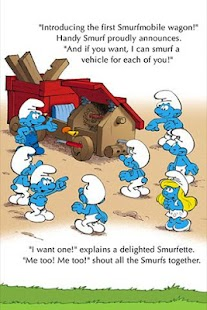 The Smurfs - Smurfmobile Race- screenshot thumbnail