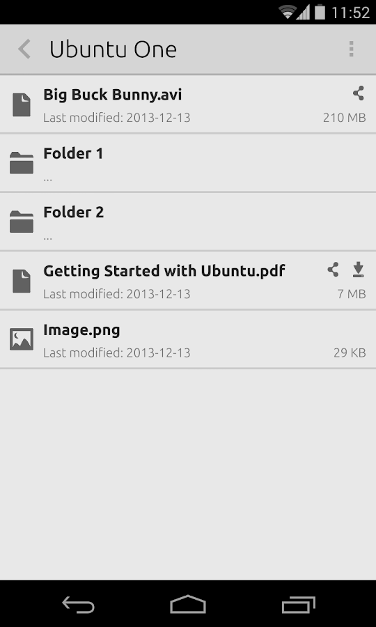 U1Files - screenshot