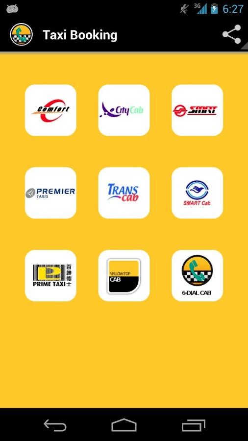Taxi Booking | Taxi Singapore