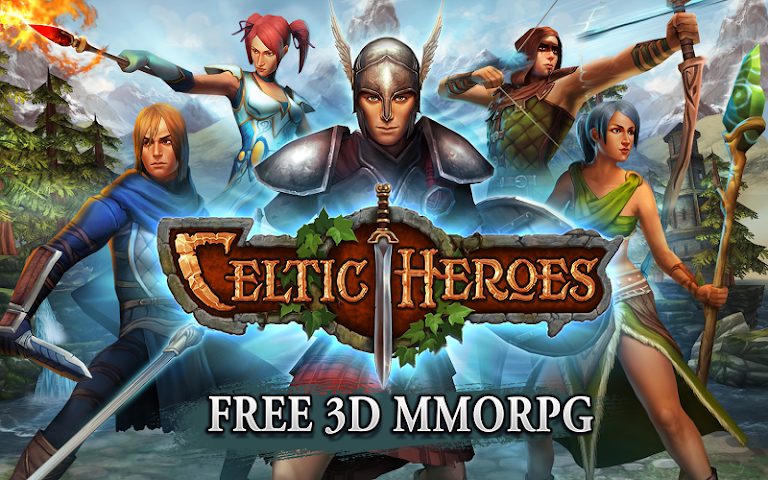 android 3D MMO Celtic Heroes Screenshot 5