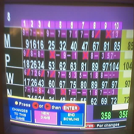Good Memories Bowling Game